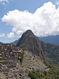 The Citadel with Huayna Picchu (The Young Peak) in the Background  Machu Picchu  Peru