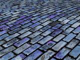 Blue Streets of Old San Juan  San Juan  Puerto Rico  USA  Caribbean