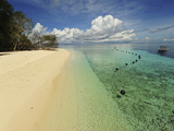 White Sand Beach  Semporna Archipelago  Sipadan  Malaysia