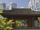 Dr Sun Yat-Sen Chinese Garden in Chinatown  Vancouver  British Columbia  Canada