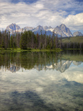 Little Redfish Lake  Sawtooth National Recreation Area  Idaho  USA