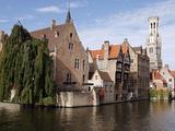 Rozenhoedkaai View  Bruges  Belgium