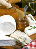 French Cheeses and Honey  France