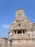 Jain Temple in Chittorgarh Fort  Rajasthan  India