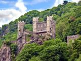Castle Rheinstein  Rheinland-Pflaz  Germany