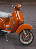 Vespa Scooter  Llanes  Spain