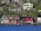 Waterfront Boat Garage Homes  Bergen  Norway