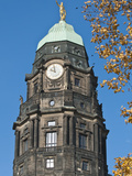 New Town Hall in Dresden  Germany