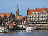 Harbor View with Church Spire  Edam-Volendam  Netherlands