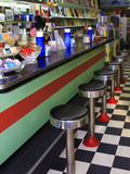 Ice Cream Soda Fountain  Apalachicola  Florida  USA