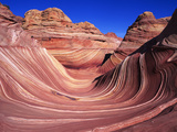 Fantastic Lunar Landscape of Vermillion Cliffs-Paria Wilderness  Utah and Arizona  USA