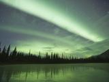 Aurora Borealis, Alaska, USA Papier Photo par Hugh Rose