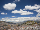 City View with El Panecillo  Quito  Ecuador