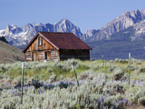 Old Barn  Sawtooth National Recreation Area  Idaho  USA