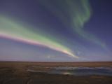 Aurora Borealis  Arctic National Wildlife Refuge  Alaska  USA