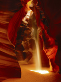 Slot Canyon, Upper Antelope Canyon, Page, Arizona, USA Papier Photo par Michel Hersen