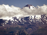 Villarrica Volcano  View from Huerquehue National Park  Chile