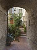 Alleyway  Todi  Italy