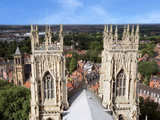 York Minster Cathedral  Largest Gothic Building in N Europe  City of York  North Yorkshire  England