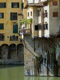 Ponte Vecchio (1345)  Florence (Firenze)  UNESCO World Heritage Site  Tuscany  Italy