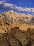 Snow-Covered Alabama Hills  California  USA