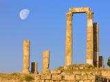 Hercules Temple  Jabal Al-Qal'A  Amman  Jordan