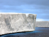Ross Ice Shelf  Edge Ranging from 40 to 80 Meters 130 to 260 Feet High  Antarctica