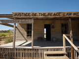 Saloon and Courtroom  Langtry  Texas  USA