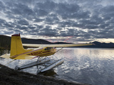 Floatplane  Takahula Lake  Alaska  USA
