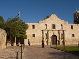 The Alamo Shrine  San Antonia  Texas  USA