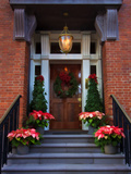 Decorative Christmas Entrance  Georgia  USA