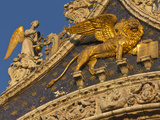 Lion of San Marco  Venice  Italy