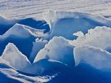Ice Pattern  Iles De La Madeleine  Quebec  Canada