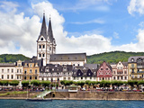 Houses and Church of St Severus  Boppard  Germany