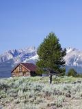 Old Barn  Sawtooth National Recreation Area  Idaho  USA