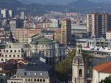 View of Parque Etxebarria Park  Bilbao  Spain
