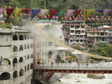 Sri Guru Nanak Ji Gurdwara Shrine  Manikaran  Himachal Pradesh  India