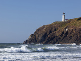 North Head Lighthouse  Cape Disappointment State Park  Washington  USA