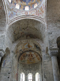 Byzantine Frescoes and Ceiling  Trabzon  Turkey