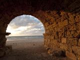 Aqueduct Ruins  Caesarea  Israel