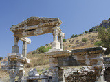 The Nymphaeum Traiani  Ancient Fountain Structure  Ephesus  Turkey