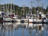 Fishing Boats at Port  Ilwaco  Washington  USA