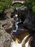 Temperance River State Park  Schroeder  Minnesota  USA
