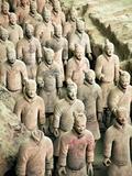 Qin Shi Huang Di Mausoleum with Terracotta Warriors  Xi'An  China