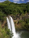 Wailua Falls  Kauai  Hawaii  USA