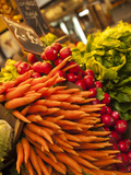 Carrots  Central Market  Malaga  Spain