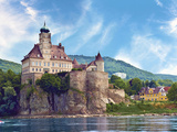 The Stunning Schonbuhel Castle Sits Above the Danube River Along the Wachau Valley of Austria