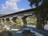Wanan Bridge  Traditional Wood Covered Bridge (China's Longest Such Bridge)  Pingnan  Fujian  China