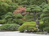 Portland Japanese Garden  Oregon  USA