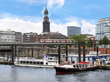 Tour Boats  Hamburg  Germany